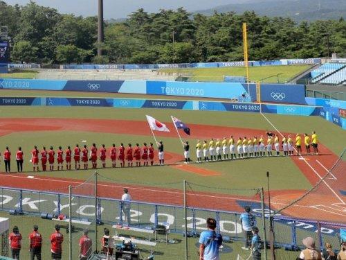 JO-2020: la première épreuve sportive a commencé, avec le début du tournoi de softball à Fukushima