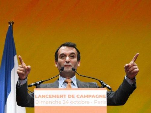"""Présidentielle: Philippot prône la """"rupture"""" contre une """"oligarchie mondialiste"""""""