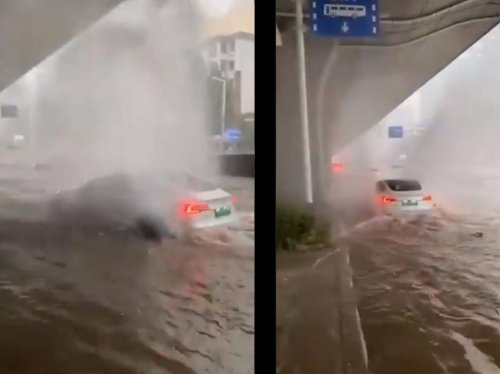 Pourquoi les voitures électriques ne craignent pas l'eau