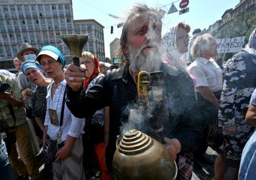 Ukraine: plus de 55.000 orthodoxes fidèles au patriarcat de Moscou défilent à Kiev