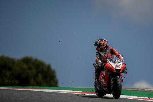 """MotoGP: pole """"à moitié méritée"""" pour Quartararo au Portugal"""