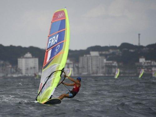 JO-2020: Thomas Goyard médaillé d'argent en planche à voile, comme Charline Picon