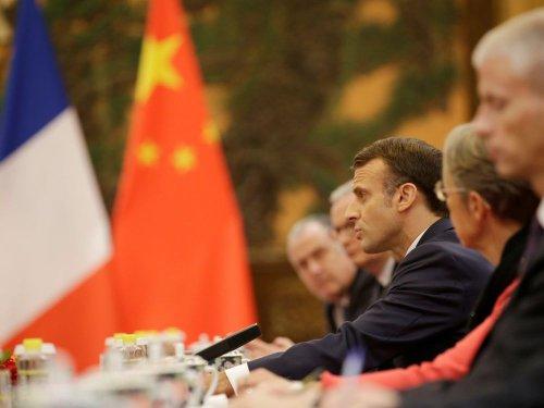 Macron s'entretient avec Xi, demande à Pékin d'avancer sur la sortie du charbon
