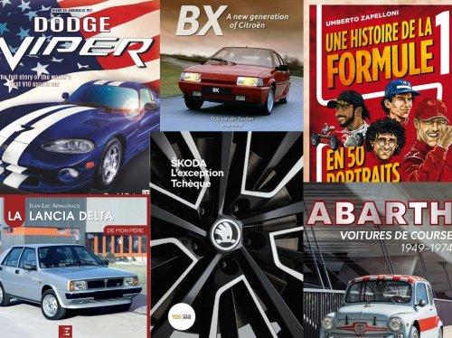 Lancia Delta, Formule 1, Abarth… Notre sélectrion de livres pour la fête des pères