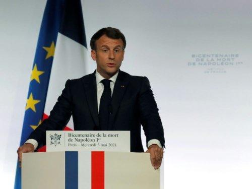 """""""Napoléon Bonaparte est une part de nous"""", souligne Macron"""