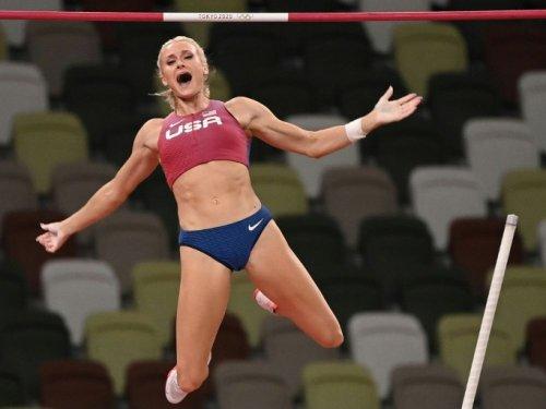 JO-2020 - Athlétisme: L'Américaine Katie Nageotte championne olympique de la perche