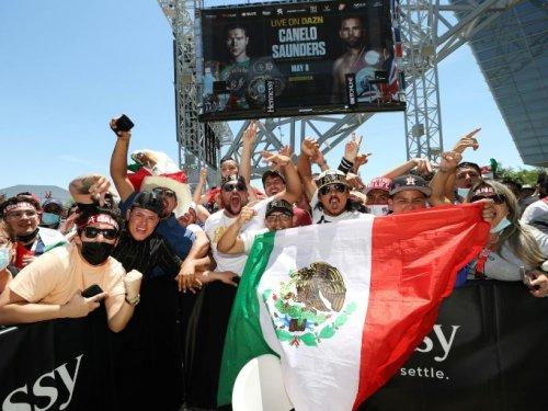 Boxe: le combat Canelo-Saunders précédé d'une pesée en fanfare