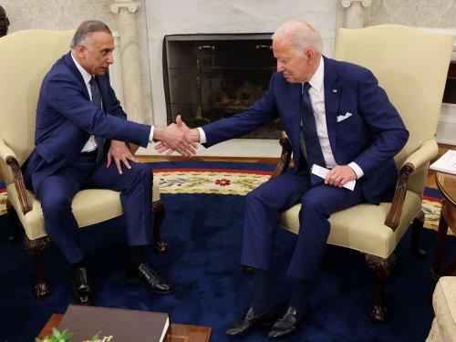 Biden signe l'accord mettant fin à la mission de combat US en Irak