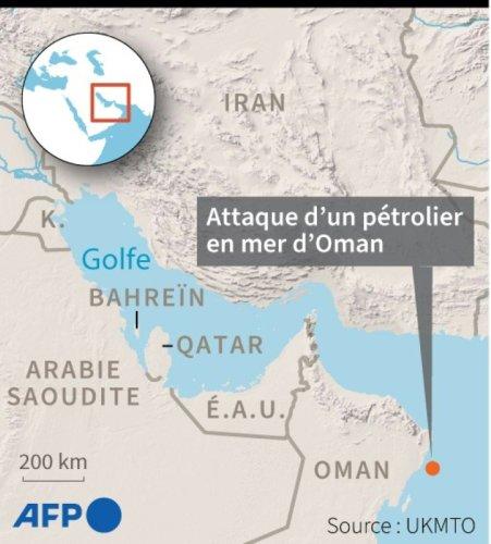Pétrolier attaqué au large d'Oman: Israël veut porter l'affaire devant l'ONU