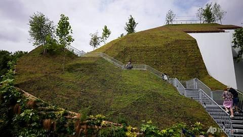 More a molehill: Visitors slam London's new tourist 'mound'