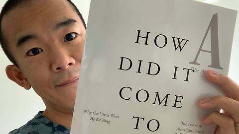 Malaysian-born journalist Ed Yong wins Pulitzer Prize for COVID-19 reporting