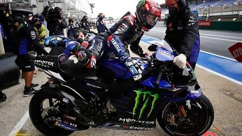 Motorcycling-Yamaha's Quartararo takes pole ahead of Vinales at French Grand Prix
