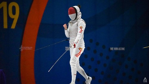 'I owe everything to my mum and dad': A Singaporean fencer makes history and keeps an Olympics promise