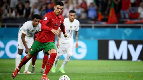 Football: Ronaldo scores 109th international goal to equal record
