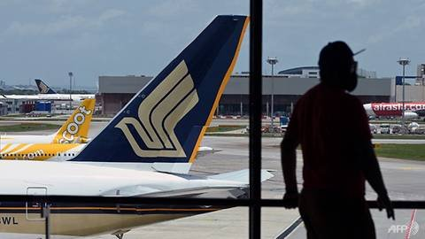 SIA Group's passenger carriage down 90.2%, but 'measured recovery' expected in air travel demand
