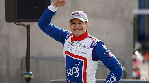 Motor racing-Palou holds off late challenge for first IndyCar win