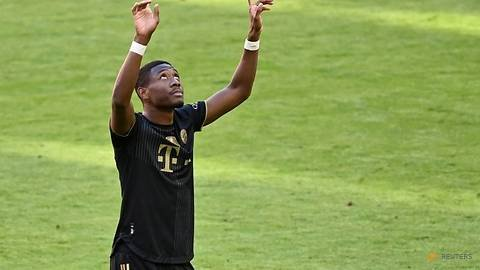Soccer-Real Madrid's new boy Alaba tests positive for COVID-19