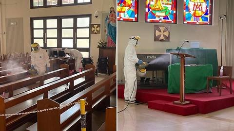 Four COVID-19 cases detected at 4 Catholic churches in Singapore