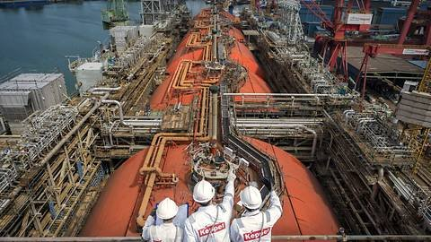 Sembcorp Marine in talks to combine with Keppel's marine services business