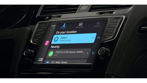 Apple Carplay: Parking-App – Parkgebühr per Klick bezahlen