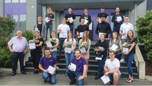 26 neue Fachkräfte: Wortmann-Azubis mit erfolgreichem Abschluss