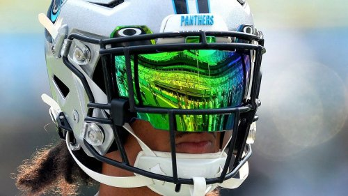 Panthers brought their mixed reality mascot back vs. the Saints. Here's how it works