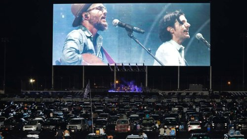 Scott Avett on how he feels about drive-in concerts — and how he voted for president