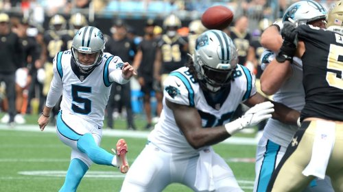 The Panthers are on their third kicker in as many games and it's not getting any better