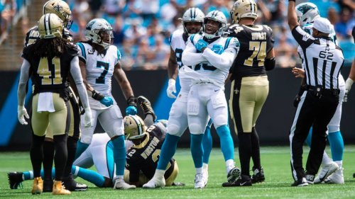 Sack specialists Reddick and Burns have everything but a nickname for 2-0 Panthers