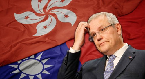 PM who can't tell the difference between Taiwan and Hong Kong ready to take on China