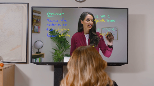 What This High-Tech Classroom Whiteboard Means for the Future of Education