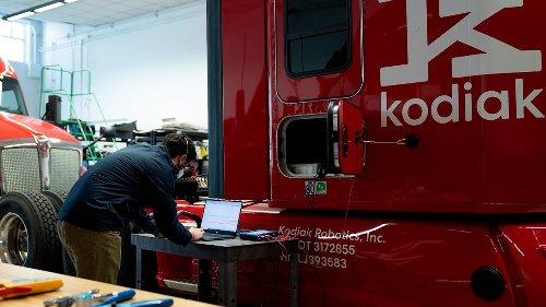 Kodiak Robotics Ready to Advance Autonomous Long-Haul Trucking with Bridgestone Investment