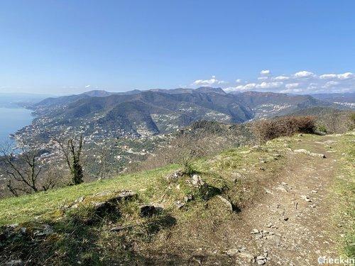 Santuario di Caravaggio (Liguria), trekking tra Recco e Ruta di Camogli