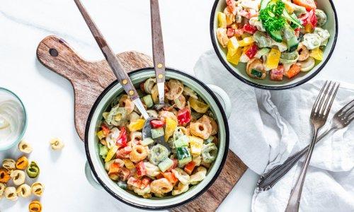 Köstlicher Tortellinisalat