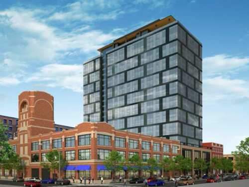 19-story apartment building planned for West Loop