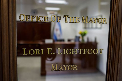 Mayor Lori Lightfoot spent $104,000 on upgrades to her City Hall conference room, including 75 inch touch screen