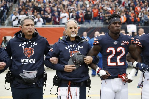 Ted Monachino, the Chicago Bears outside linebackers coach, is not expected to return, leaving another opening on coach Matt Nagy's staff