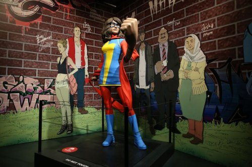 I spent hours finding all the secrets and Easter eggs in 'Marvel' at the MSI. Here are 18.