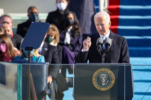 'Democracy has prevailed:' Read the text of Joe Biden's inaugural address as 46th president