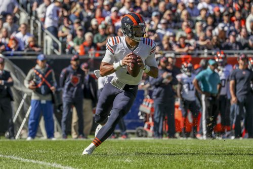 How has Justin Fields been in 4 starts? And can the defense shut down Tom Brady? 4 questions for the Chicago Bears ahead of their Week 7 game.