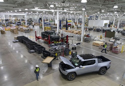 Rivian plant gearing up for June launch in Normal