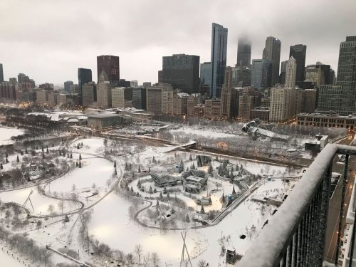 Chicago is covered in snow — send us your photos to be featured in our gallery