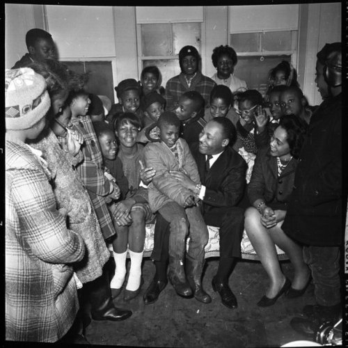 Recently uncovered photographs of the Rev. Martin Luther King Jr.'s time in Chicago