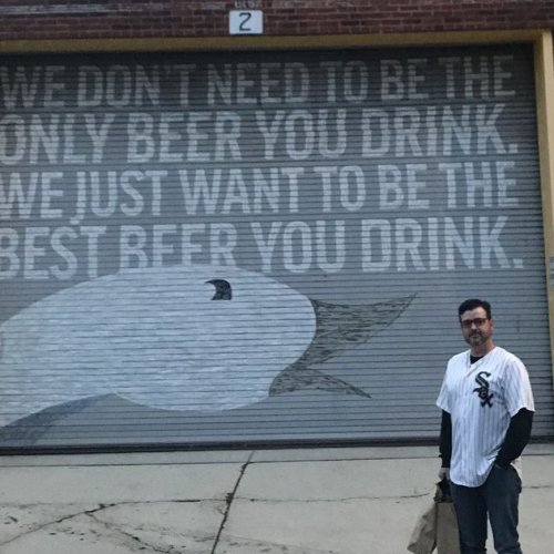 A Palos Heights man's tweet about new White Sox star is now the name of Goose Island's latest beer