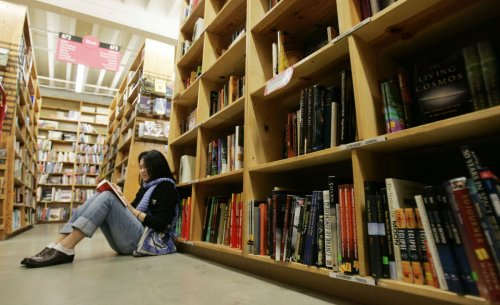 Opinion: Aching to travel? Try bookstore tourism.