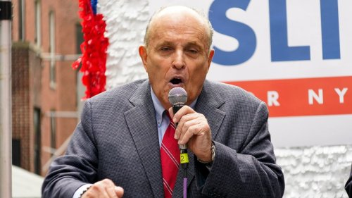 Rudy Giuliani's law license suspended for false statements about election, New York court rules