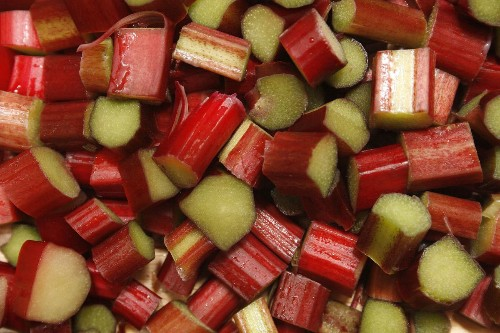 Relishing rhubarb: Fine filling goes from bread pudding to pink lemonade