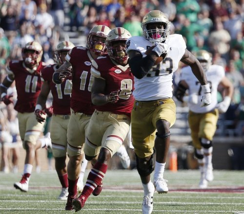 Notre Dame at the midpoint: Improvement evident in several key areas