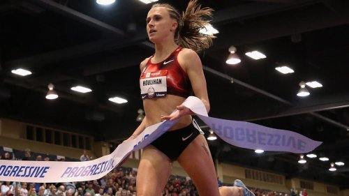 Shelby Houlihan is out of the Olympic Trials after all