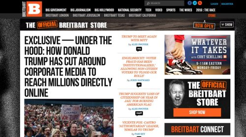 'It wasn't even a question:' The calculation for pulling advertising off Breitbart